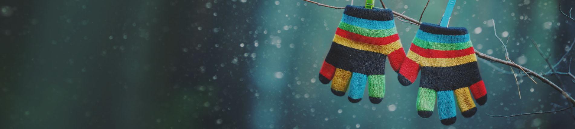 Lasten sade- ja kuravaatteet