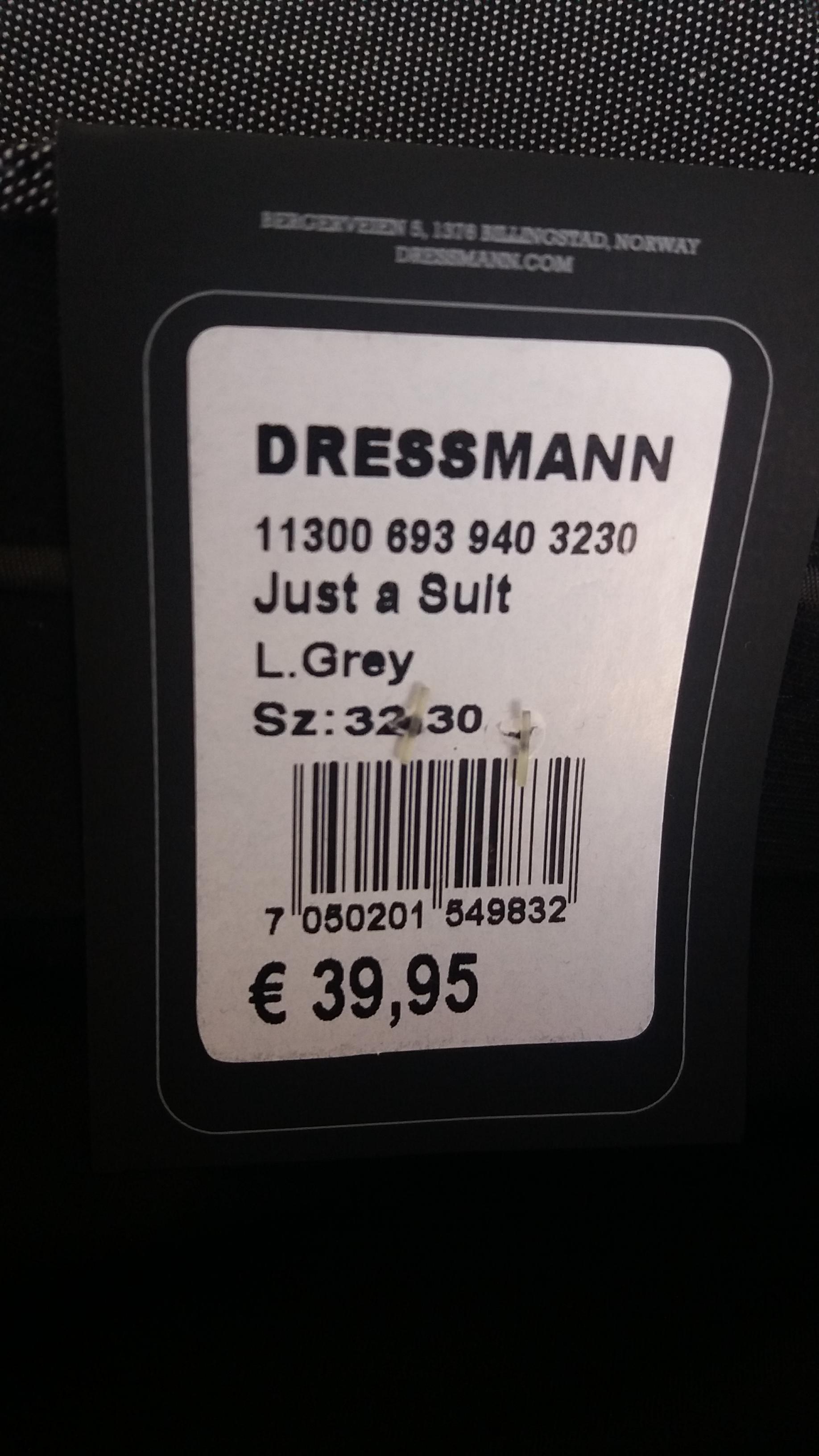 Dressmann puvut kokemuksia